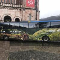 Rotulación de autocares de Turismo de Asturias