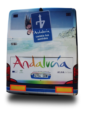Trasera buses Nacional